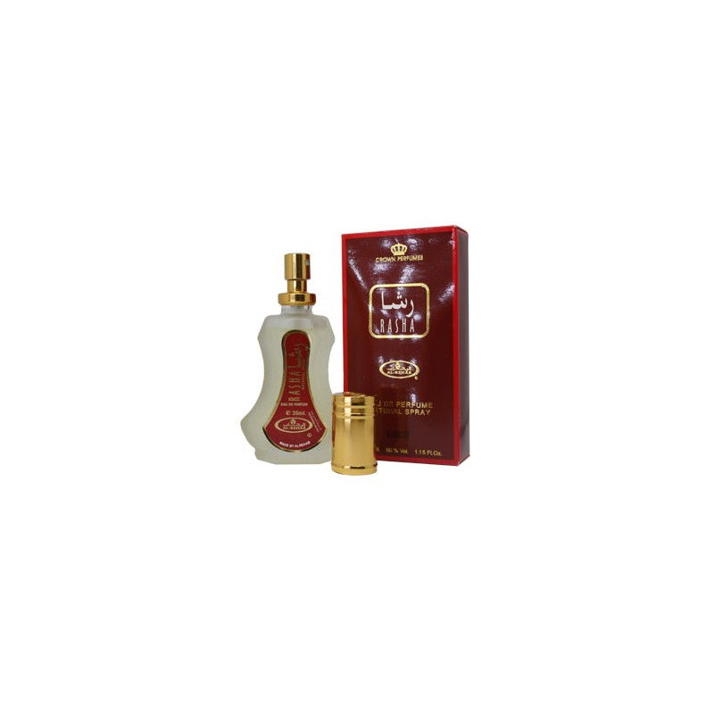 RASHA AL REHAB - ORIGINAL - 35 ml. - SPRAY - WWW.COSMETICSDIVISION - ARABIAN PARFUMES - ESSENZE ORIENTALI - PREZZO