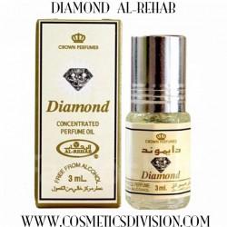 DIAMOND AL-REHAB PROFUMO OLEOSO CONCENTRATO  - WWW.COSMETICSDIVISION.COM  -  ORIGINALE