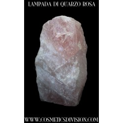 LAMPADA DI QUARZO ROSA - BENESSERE - WWW.COSMETICSDIVISION.COM