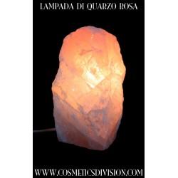 LAMPADA DI QUARZO ROSA - BENESSERE - ACCESA - WWW.COSMETICSDIVISION.COM - SONNI SERENI