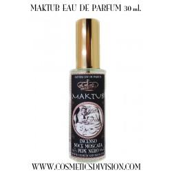 MAKTUB EAU DE PARFUM - il vero profumo di incenso - oman - ansiolitico - benessere - WWW.COSMETICSDIVISION.COM - PREZZO