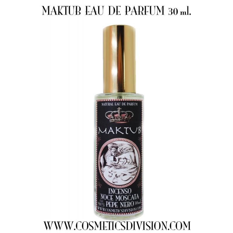 MAKTUB EAU DE PARFUM - il vero profumo di incenso - oman - ansiolitico - benessere - WWW.COSMETICSDIVISION.COM