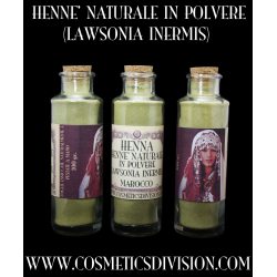 HENNE' NATURALE IN POLVERE...