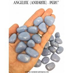 ANGELITE - ANIDRITE - MISURE - CRISTALLI - CRISTALLOTERAPIA - WWW.COSMETICSDIVISION.COM