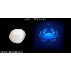 AGATA - BIANCA - ZODIACO - CANCRO - CRISTALLI E ZODIACO - WWW.COSMETICSDIVISION.COM - PREZZO